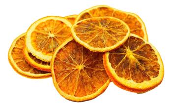 Pomarańcze suszone w plastrach 40 g do dekojracji