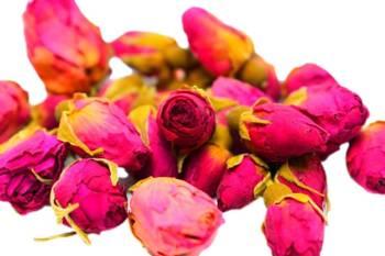 Suszone pąki róż do świec sojowych kwiaty 10 szt.
