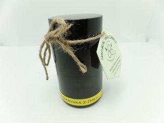 Świeca w słoiku z wosku sojowego mandarynka z chili 200 ml