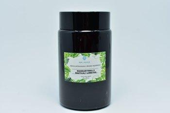 Świeca z wosku sojowego mandarynka z bazylią 240ml