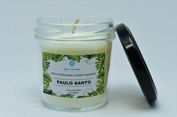 Świeca z wosku sojowego paulo santo 120ml