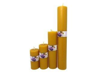Zestaw świec z wosku pszczelego 4 szt.