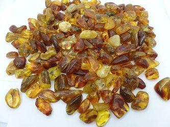 bursztyn bałtycki gruby wysoki 20-40 mm 3 szt