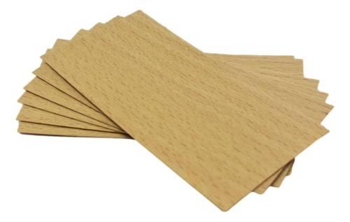 Knot drewniany do wosku 20 szt dłu. 10cm szer. 5cm