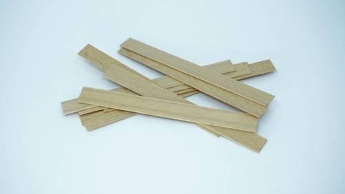 Knot drewniany do wosku stopki gratis 100 szt 8 cm