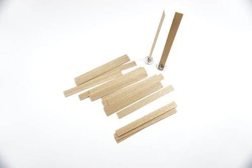 Knot drewniany do wosku stopki gratis 20 szt 8 cm