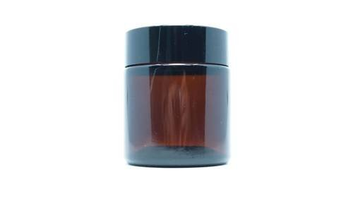 Słoik czarny apteczny do świec zakręcany 120 ml 1 szt.