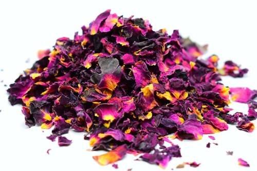 Suszone płatki róż do świec sojowych kwiaty 20g