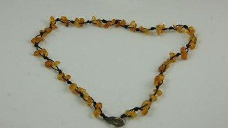 bursztyn bałtycki naszyjnik biżuteria modny natura