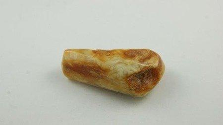 bursztyn bałtycki trójkolorowy antyk polerowany 12,5 g